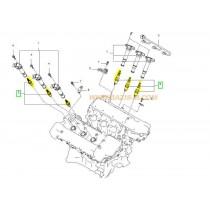 СВЕЩ ЗАПАЛИТЕЛНА S16 (M14/L26.5)  ILFR5B-11 Laser Iridium  2.7L (G6EA) 1884011051