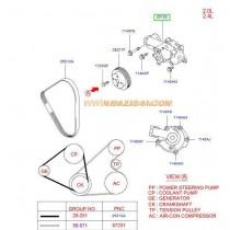 ПОМПА ВОДНА  2.0/2.4L (G4JP,G4JS) MAGENTIS/SONATA/SANTA FE -05) 2510038002