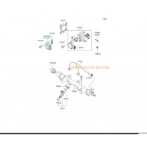 КЛАПАН РЕГУЛАТОР ПРАЗЕН ХОД (стъпков мотор)  2.0L (G4GC-X) 3515023700