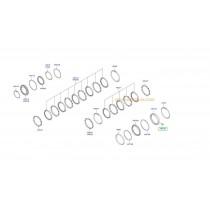 СЕМЕРИНГ СКОРОСТНА КУТИЯ (RETAINER-2ND BRAKE) (4A/T) 4567539001