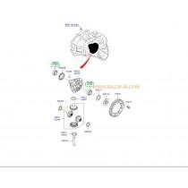 ЛАГЕР ДИФЕРЕНЦИАЛ (КАСЕТА) СКОРОСТНА КУТИЯ (5M/T), ПИНЬОН РАЗДАТКА 4736339010