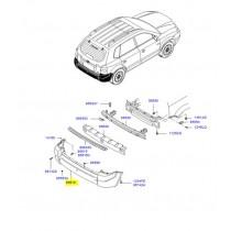 БРОНЯ ЗАДНА TUCSON (за автомобили с пластмаси по вратите и калниците) 866102E000