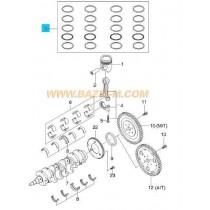 СЕГМЕНТИ STD  1.6L (78.98mm)A16DMS/F16D3 (L44, LXT) 93740225