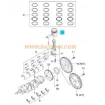 БУТАЛО 0.25 (78.12mm.)  1.4 DOHC (L14,L95)  KALOS/AVEO, LACETTI 93740420