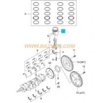 БУТАЛО STD  1.4 DOHC (77.87mm) (L14,L95)  KALOS/AVEO, LACETTI (без бут.болтове) 96389056