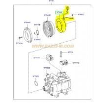 БОБИНА КОМПРЕСОР КЛИМАТИК (елмагн.съединител) (HCC)  2.0L (D4EA) SANTA FE -05), TRAJET 976413A570